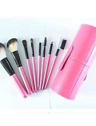 8pcs Makeup Brushes Set Nylon / Pony / Others / Goat Hair / Horse Others