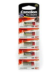 camelion 12v a27 batterie de mirco alcaline (5pcs)