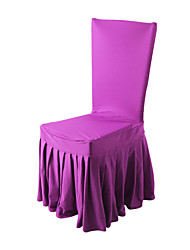Wedding Décor Pretty Delicate Fit 110cm Height 55 Width Pleated Chair Cover