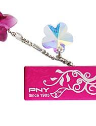 PNY Attaché belle fleur usb 8gb lecteur flash cristal de swarovski