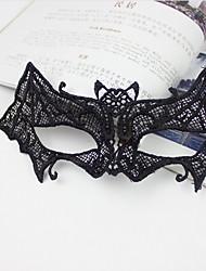 голо Хэллоуин кружева Вечерние наряды маска