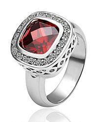 мода геометрическая драгоценный камень кольцо