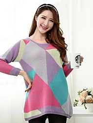 Maternity's Fashion And Joker Loose Knitting Sweater