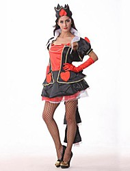 Red Heart Queen Black and Red Adult Women's Halloween Costume
