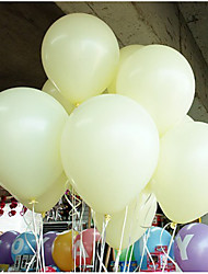 Wedding Décor Birthday  Party Decor Thicking Latex Balloons - set of 50