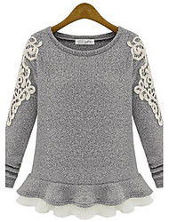 Women's Lace Embroidery Knitwear Sweater