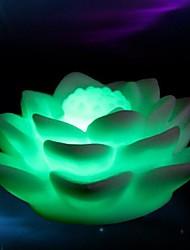 changement de couleur de lumière en forme de lotus conduit accessoires d'Halloween (couleur aléatoire)