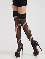 Women Thin Stockings , Nylon/Spandex