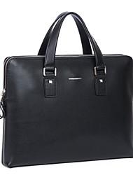 bussiness negro bolso de mano el maletín de los hombres