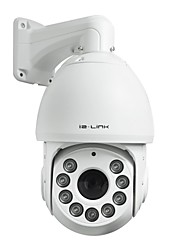 IR Distance 120m 1.3 Megapixels 20X Optical Auto Tracking High Speed Dome Camera with audio Alarm Function