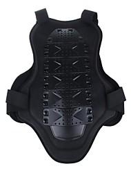 nouvelle moto armure de corps pour hommes de la mode Retour poitrine de protection (noire)