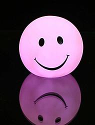 sourire rotocast lumière de nuit de changement de couleur