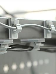 adhésif double-face en plastique collecteur de fil dévidoir (1 taille 10 pcs)