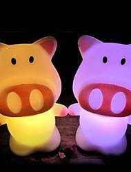 décolorer porc lumière en forme de conduit accessoires d'Halloween (couleur aléatoire)