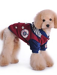 Winter Cotton / Terylene Coats for Dogs Red / Gray S / M / L / XL / XXL