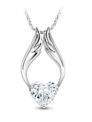 у&ч святой ангел кристалл шипованных элегантный ожерелье