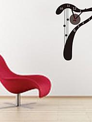 zooyoo® электронный хронометрист батареи DIY слово семь форма наклейки настенные часы настенные наклейки стены домашнего декора для