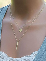Women's Simple Sequined Combination Necklace