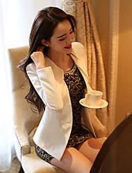 yasisha coréen mince de long blazer manches