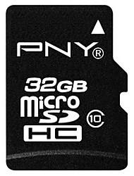 Оригинальный PNY 32gb класс 10 MicroSDHC карт памяти TF
