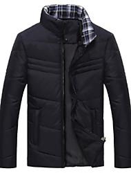 мужчин новый приходит теплая случайные Приталенный высокое качество сгущать длинный рукав верхней одежды пальто