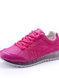 Беговая обувь Розовый / Белый Обувь Женский Полотно