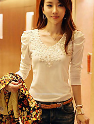 YiFuDi Women's Fahion Casual Puff Sleeve Blouse