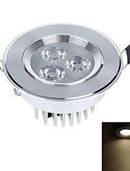3W 3-LED 250lm 3000k branco lâmpada do teto luz quente com acionamento LED (AC 110 ~ 240V)