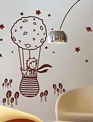 pegatinas de pared Tatuajes de pared, moderna el principito y el zorro en un PVC globo pegatinas de pared