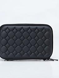 """Portable Protective EVA Zipper Case for 2.5"""" HDD - Black"""