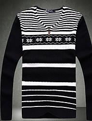 Men's Fashion Leisure  V Neck Sweater
