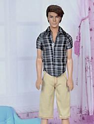 Barbie Prince School Style Casual Suit