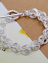 Link di colore solido torsione dolce braccialetto di modo