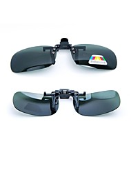 LEBOSH™Myopic Sunglass Clip Super Light Polarized Lens Anti Glare Dark Green