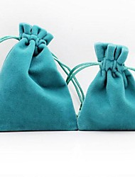 10pcs Coway 7 * 9 * 2 sentir alto grau de veludo grosso saco de jóias macio e confortável