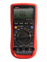 UNI-T UT61A Modern LCD Digital Multimeter AC DC Volt Amp Ohm Hz Capacitance Tester