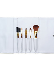 5 Makeup Brushes Set Nylon / Synthetic Hair Others