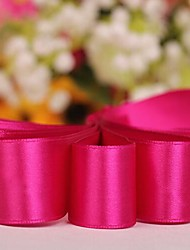 Solid Color 7/8 Inch Satin Ribbon -50 Yards Per Roll (More Colors)