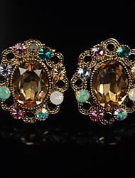 Women's Diamante Crystal Earrings