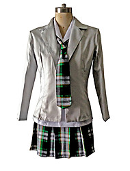 School Girl Check Pattern Women's Costume
