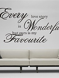 ZOOYOO® Cute Colorful PVC Removable variety art word style of Wall Stickers Hot Selling Wall Decals Home Decor