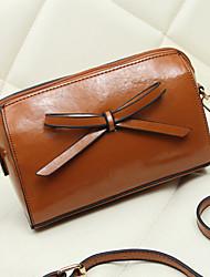 BlKl petit sac européen de l'épaule unique inclinée (brun)