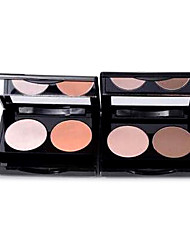 2Color 3D Shimmer Smooth Eyeshadow