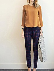 Women's  Fashion  Loose  Suit(Blouse&Pants)