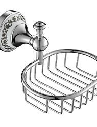 Bathroom Accessories Solid Brass Soap Basket