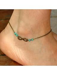 Women's All Handmade Beads Anklets