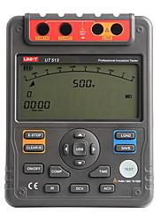 UNI-T UT513 Digital Resistência de Isolamento Tester Medidor de teste Megger 1M-1000G OHM 5000V interface USB