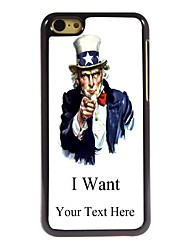 Personalized Gift I Want Design Metal Case for iPhone 5C