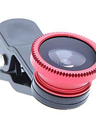 Lentille Clipse pour Portable 3-en-1 ; Fish Eye, Macro & Grand Angle