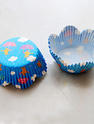 Raining Day Cupcake Wrappers-Set of 50